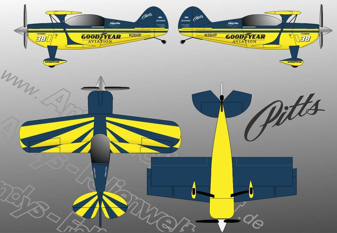 Pitts S2 Goodyear