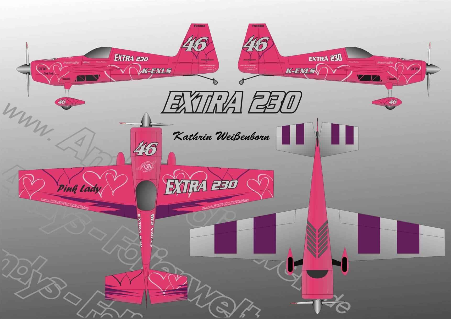 Extra 230 Pink Lady