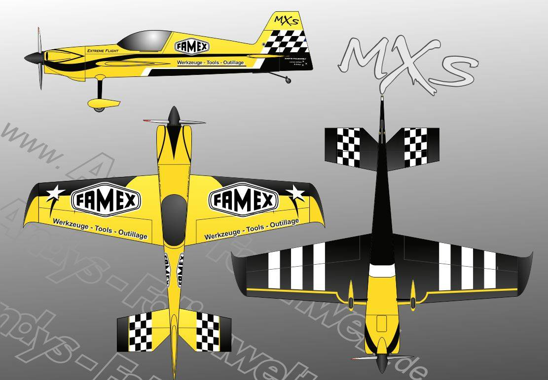 Extreme Flight MXS FAMEX
