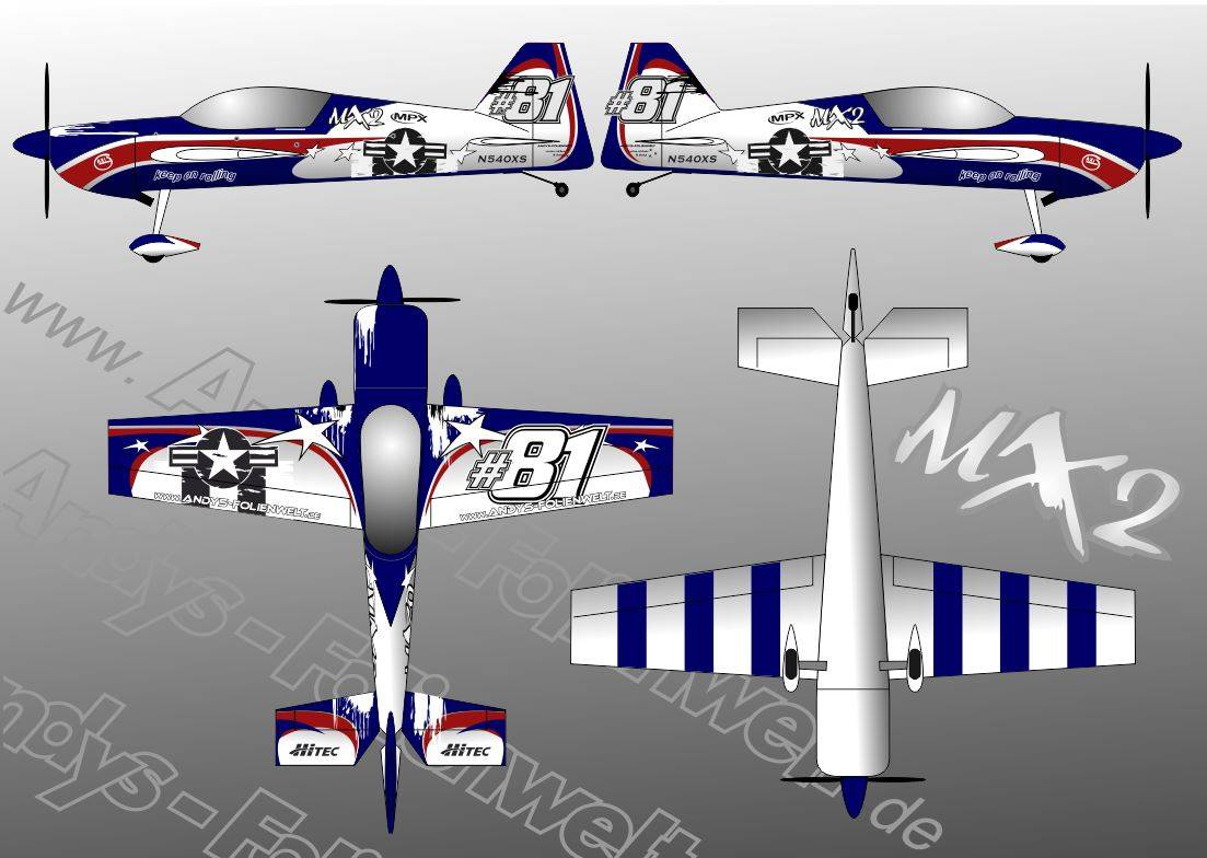 MX2 GB Models USAF