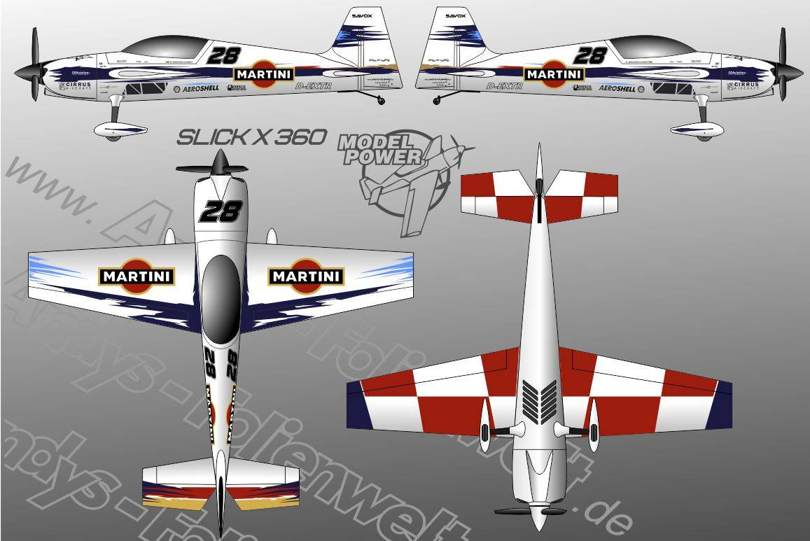 Slick X 360 Modelpower Martini