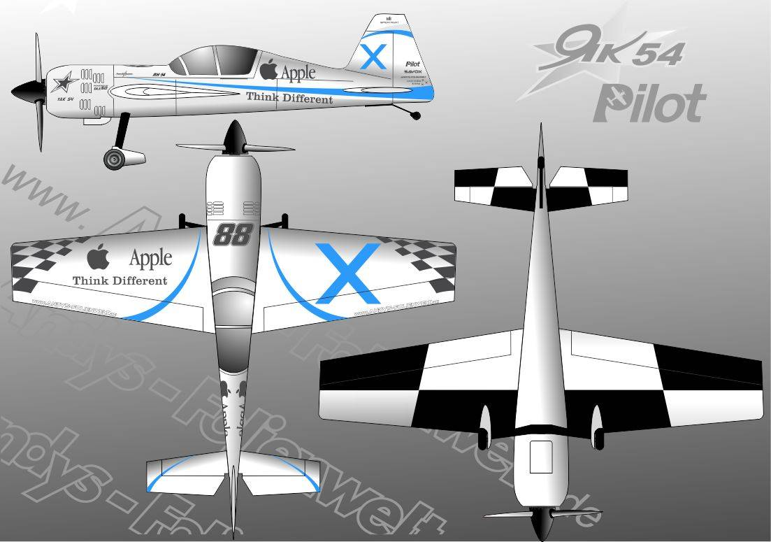 Yak 54 Apple Design