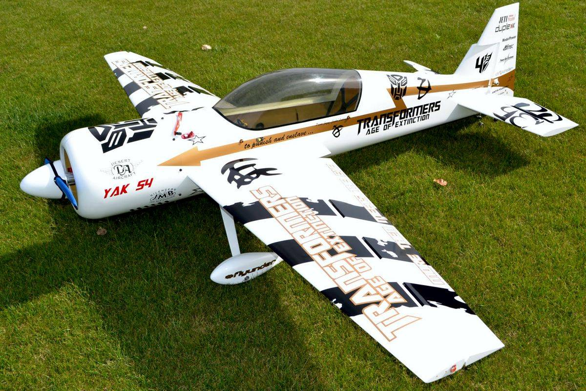 Yak 54 Model Power